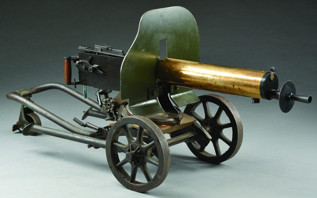 Maxim Russian Govt Arsenal 1910 8mm